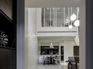 大荷室內裝修設計工程有限公司 Pasillos, vestíbulos y escaleras de estilo moderno