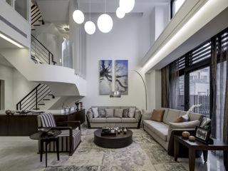 大荷室內裝修設計工程有限公司 Salon moderne