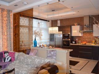 Студия интерьера Дениса Серова Cocinas de estilo moderno