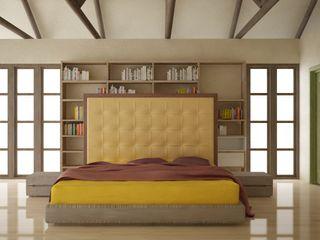 ESTUDIO DUSSAN Eclectic style bedroom