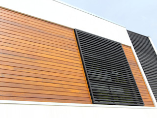 Taguá Arquitetura Maisons modernes Bois Blanc