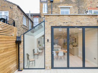 Major renovation, extension and loft. Fulham W6 TOTUS Eclectic style houses