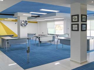 arQing Kantor & Toko Modern Blue