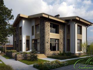 Компания архитекторов Латышевых 'Мечты сбываются' Casas ecléticas