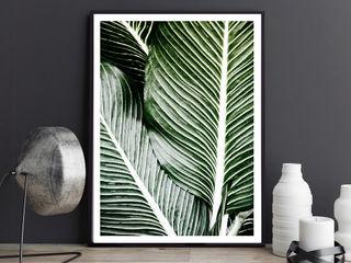 K&L Wall Art SalonesAccesorios y decoración Papel Verde