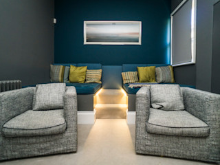 RYDENS ROAD Concept Eight Architects Classic style media rooms