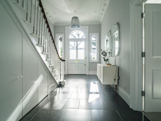 RYDENS ROAD Concept Eight Architects Classic corridor, hallway & stairs