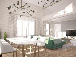 needsomespace Salones de estilo minimalista
