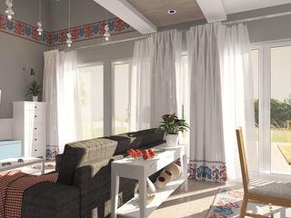 needsomespace Salones de estilo escandinavo