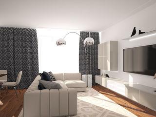 needsomespace Salones de estilo moderno