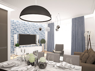 needsomespace Eclectic style dining room
