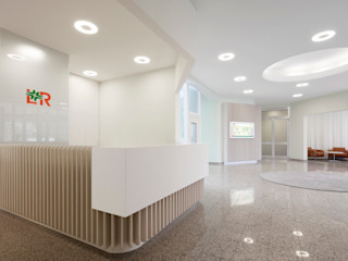 destilat Design Studio GmbH Modern office buildings