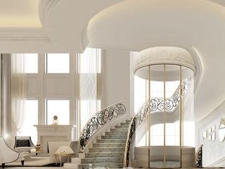 Stunning Staircase and Elevator Design Ideas IONS DESIGN Corridor, hallway & stairsStairs Iron/Steel Black