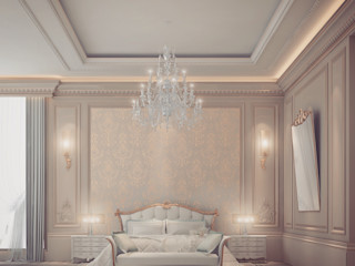 Extravagant yet pleasingly simple and elegant Bedroom Design IONS DESIGN Classic style bedroom Wood Beige
