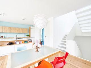 hokon Corridor, hallway & stairsStairs Wood White
