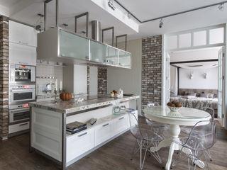 Irina Derbeneva Cucina in stile industriale