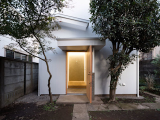 ディンプル建築設計事務所 Ingresso, Corridoio & Scale in stile moderno
