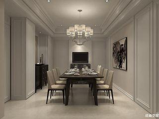 成綺空間設計 Salas de jantar clássicas