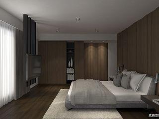 成綺空間設計 Quartos modernos