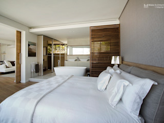 Clifton Apartment Make Architects + Interior Studio Modern style bedroom