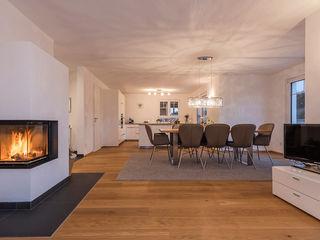 KitzlingerHaus GmbH & Co. KG Modern Dining Room White