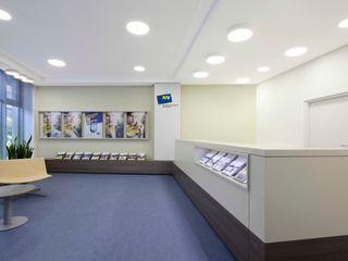 destilat Design Studio GmbH Modern offices & stores