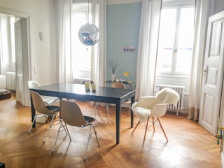 innen_architekten BALS + WIRTH Ruang Makan Modern