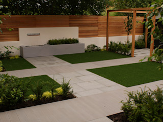 Garden Design Didsbury Hannah Collins Garden Design Taman Modern