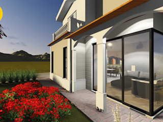 Estúdio 12b Country style houses