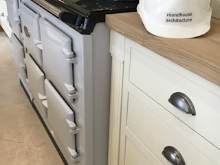Plot 4, The Views, Gallaton, Stonehaven, Aberdeenshire Roundhouse Architecture Ltd Modern style kitchen