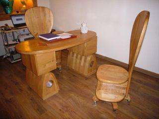 Gli Artigiani dei f.lli M.& S. Cordi snc Study/officeDesks Wood