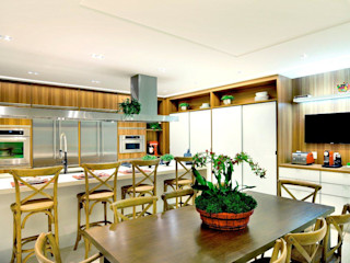 Quitete&Faria Arquitetura e Decoração Cuisine moderne