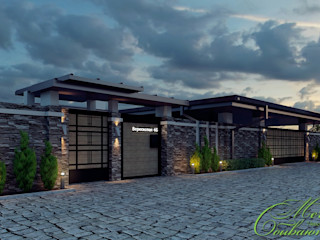 Компания архитекторов Латышевых 'Мечты сбываются' Casas asiáticas
