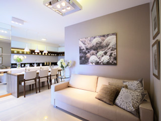 Arqbox Modern living room MDF Grey