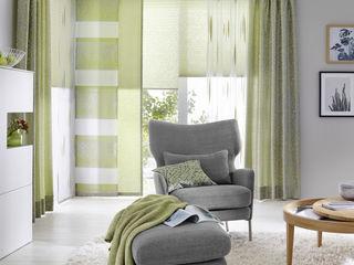 UNLAND International GmbH 窗戶與門窗戶裝飾品 布織品 Green