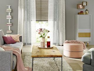 UNLAND International GmbH 窗戶與門窗廉與布簾 布織品 Beige
