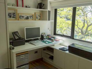 MinBai Study/officeDesks Wood White
