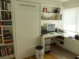MinBai Study/officeStorage Wood White