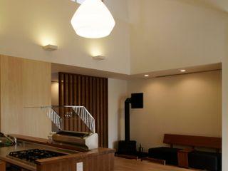 7年で工務店の規模が10倍に!話題沸騰のモデルハウス木庵(コアン) 環アソシエイツ・高岸設計室 北欧デザインの ダイニング 木 多色