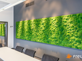 Freund GmbH Office spaces & stores Green