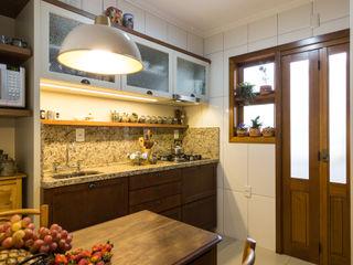 Pura!Arquitetura 廚房 Beige