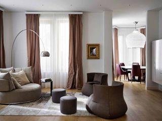 Villa Tirana Studio Marco Piva Moderne Wohnzimmer