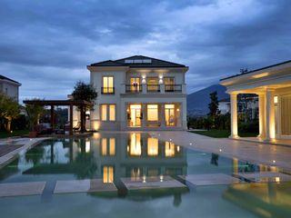 Villa Tirana Studio Marco Piva Moderne Häuser