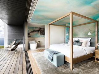 Nature Hues Pixers Minimalist bedroom