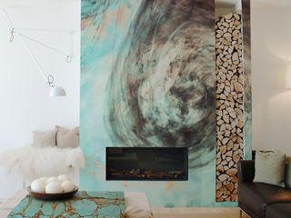 Nature Hues Pixers Modern living room