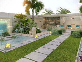 Luxury Antonovich Design Rumah Gaya Mediteran