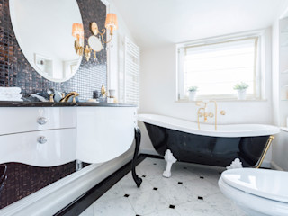 Bathrooms Gracious Luxury Interiors Classic style bathroom White