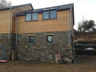 Tresillian Cladding Building With Frames Modern Houses Wood