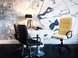 Commercial Project- Maison Estates Gracious Luxury Interiors Modern office buildings