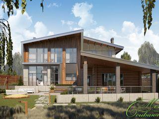 Компания архитекторов Латышевых 'Мечты сбываются' Casas campestres